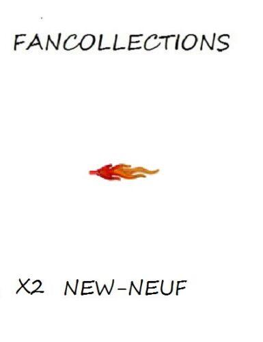 Trans-Red Wave Rounded Large Lego x 2 NEUF 85959pb01b