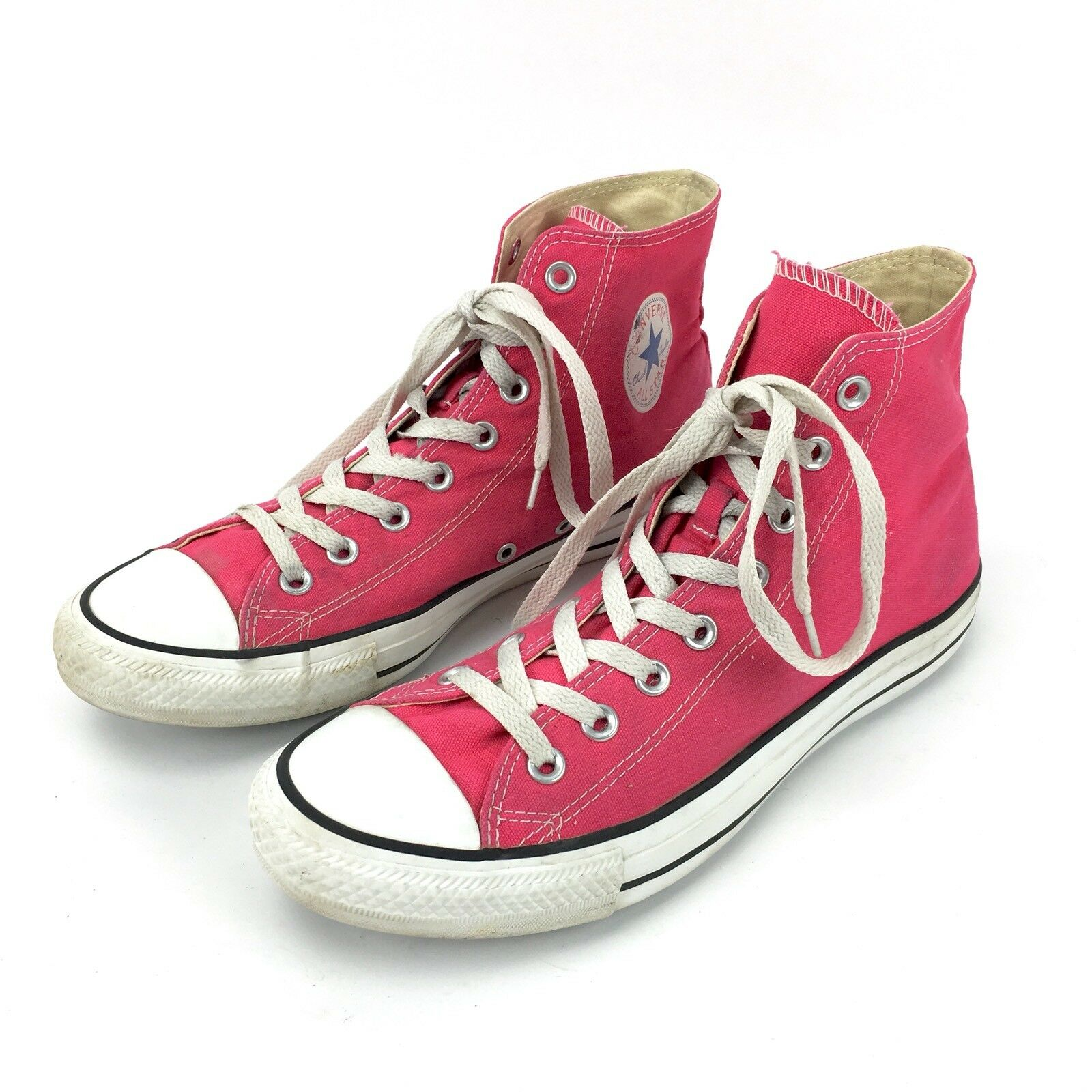 Converse All Star Chuck Taylor Mens High 9 Womens 11 Raspberry High Mens Tops Shoes 132307 598acf