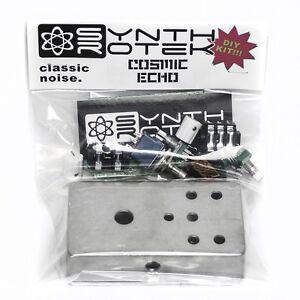 synthrotek cosmic echo delay pedal diy kit pt2399 bucket brigade guitar effect ebay. Black Bedroom Furniture Sets. Home Design Ideas