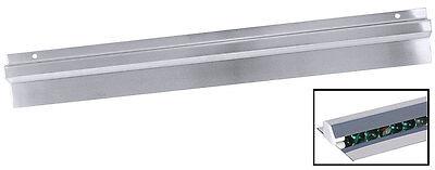 60 cm Edelstahl Bonschiene