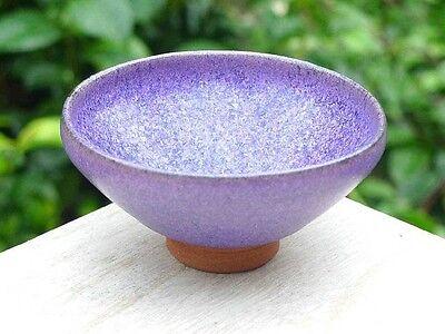 Japanese Sake cup Guinomi Ochoko Kyo Kiyomizu yaki ware purple glaze from japan