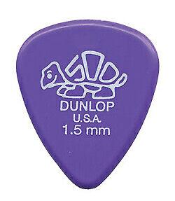 Dunlop 41P Specialty Delrin 500 Lavender 1.5mm 12pz