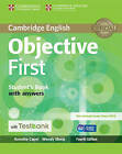 Objective First Student's Book with Answers with CD-ROM with Testbank by Annette Capel, Wendy Sharp (Mixed media product, 2015)