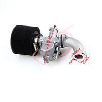 Mikuni 26mm Carburetor Air Filter Intake Manifold Fo 110cc 125cc 140cc Dirt Bike
