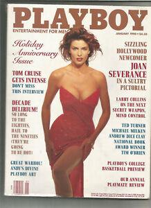 Playboy-January-1990-Joan-Severance-Tom-Cruise-Andy-Warhol-Ted-Turner-etc