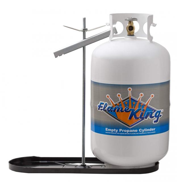 FlameKing YSN-301 Propane Tank-30 Pound Refillable Steel Cylinder with...