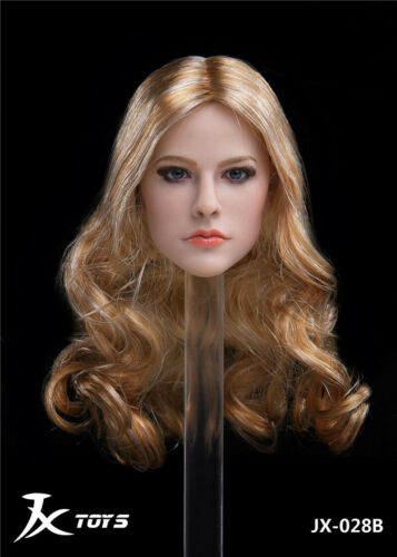 Pre-order 1//6 Scale JXTOYS JX-029 Avril Head Sculpt H#Suntan
