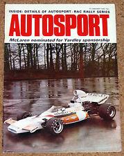 Autosport 13/1/72* BUENOS AIRES 1000 -NZ GP -BLYDENSTEIN FACTORY-FIRENZA SL TEST