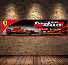 Scuderia Ferrari F1 Enthusiast PVC Banner Garage Workshop Sign BANPN00033