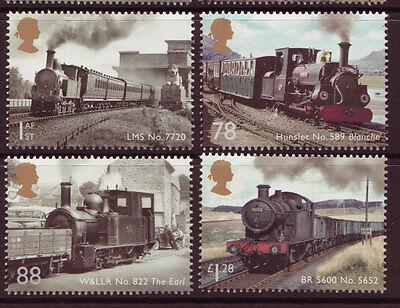 Nauwkeurig Great Britain 2014 Classic Locomotives Of Wales Set 4 Unmounted Mint We Hebben Lof Van Klanten Verdiend