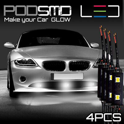 Under Car AMBER Neon Accent Glow Underbody Rock LED Lights for Mazda MX-5 Miata