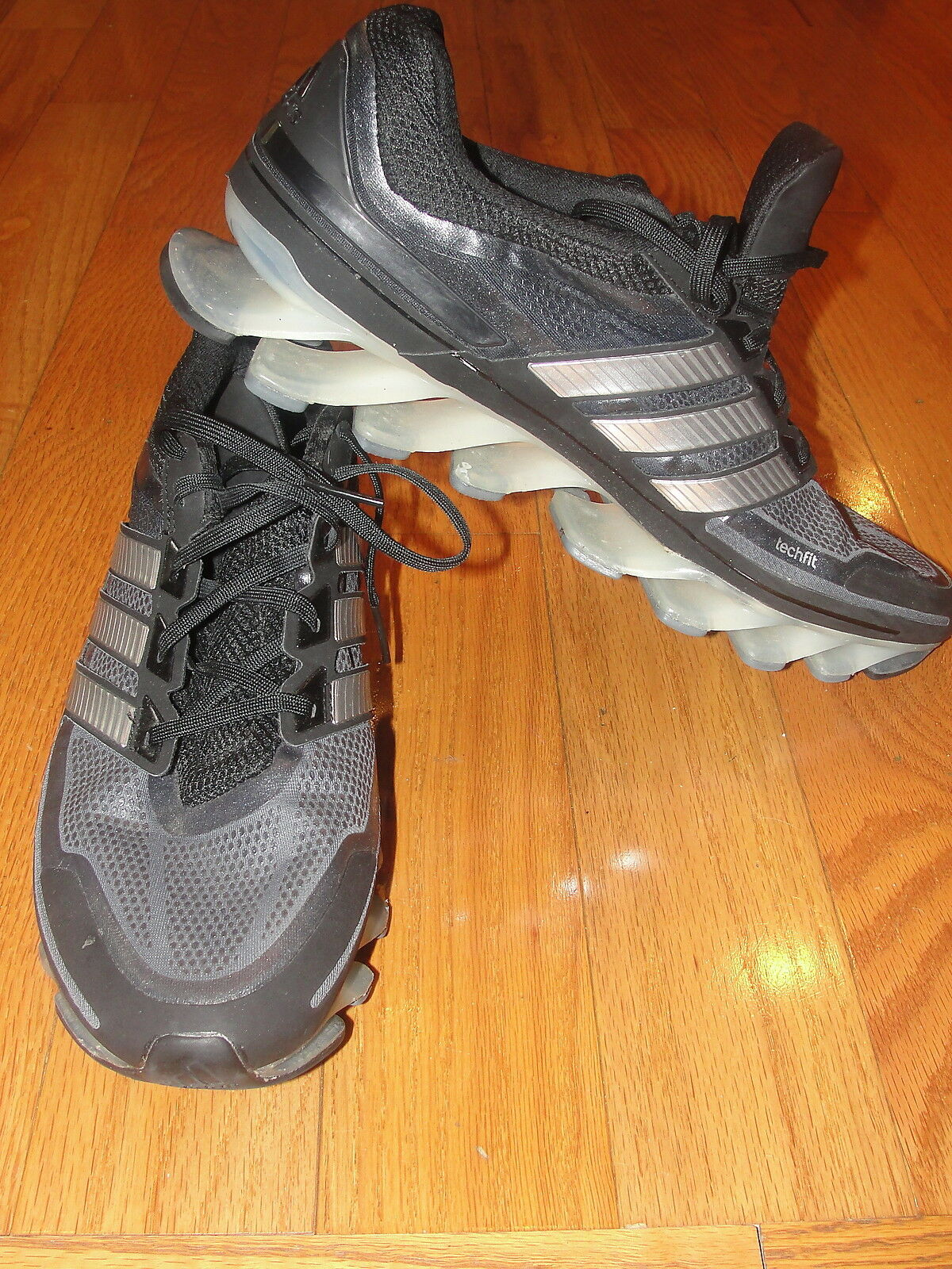 Adidas Adipower Spring Blade Running shoes Sneakers Grey Mens Size13 Springblade