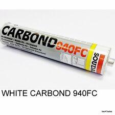 White Carbond 940FC Adhesive Sealant Car Body Kit Bond Glue Soudal Metal Marine