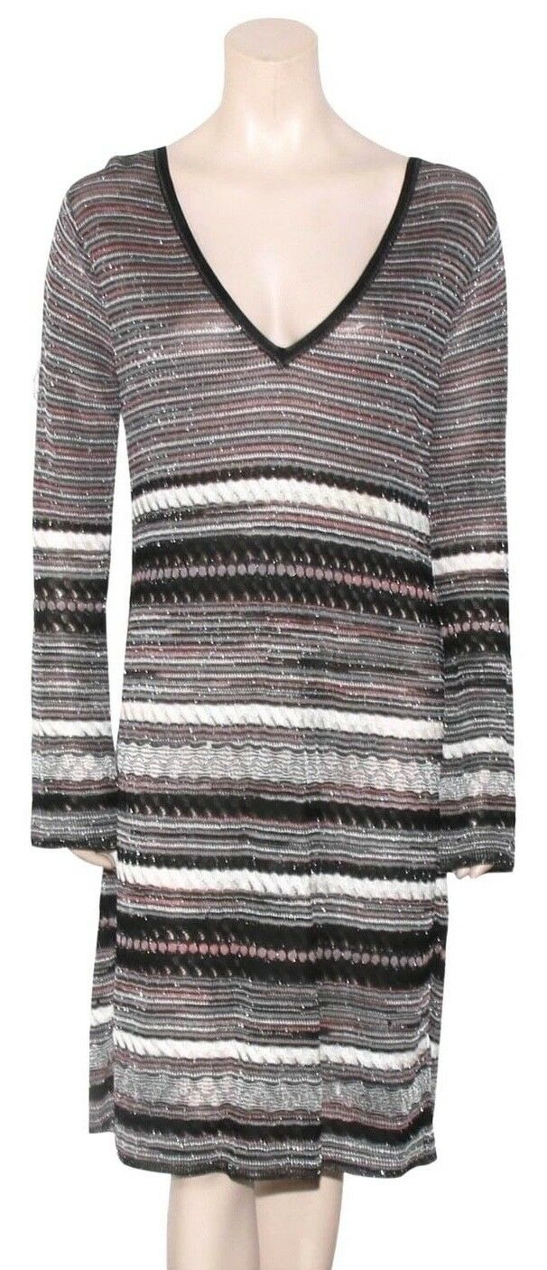 M MISSONI Shimmer Knit Dress (SIZE 12)