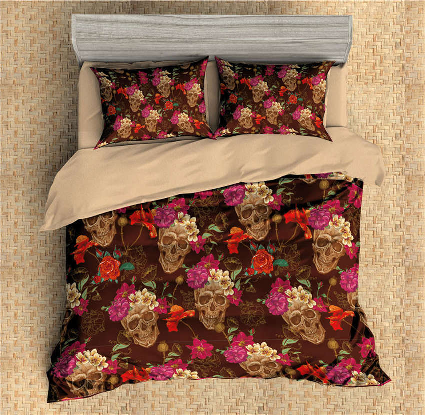 Blooming Have A Wilting 3D Digital Print Bedding Duvet Quilt Cover PilFaiblecase