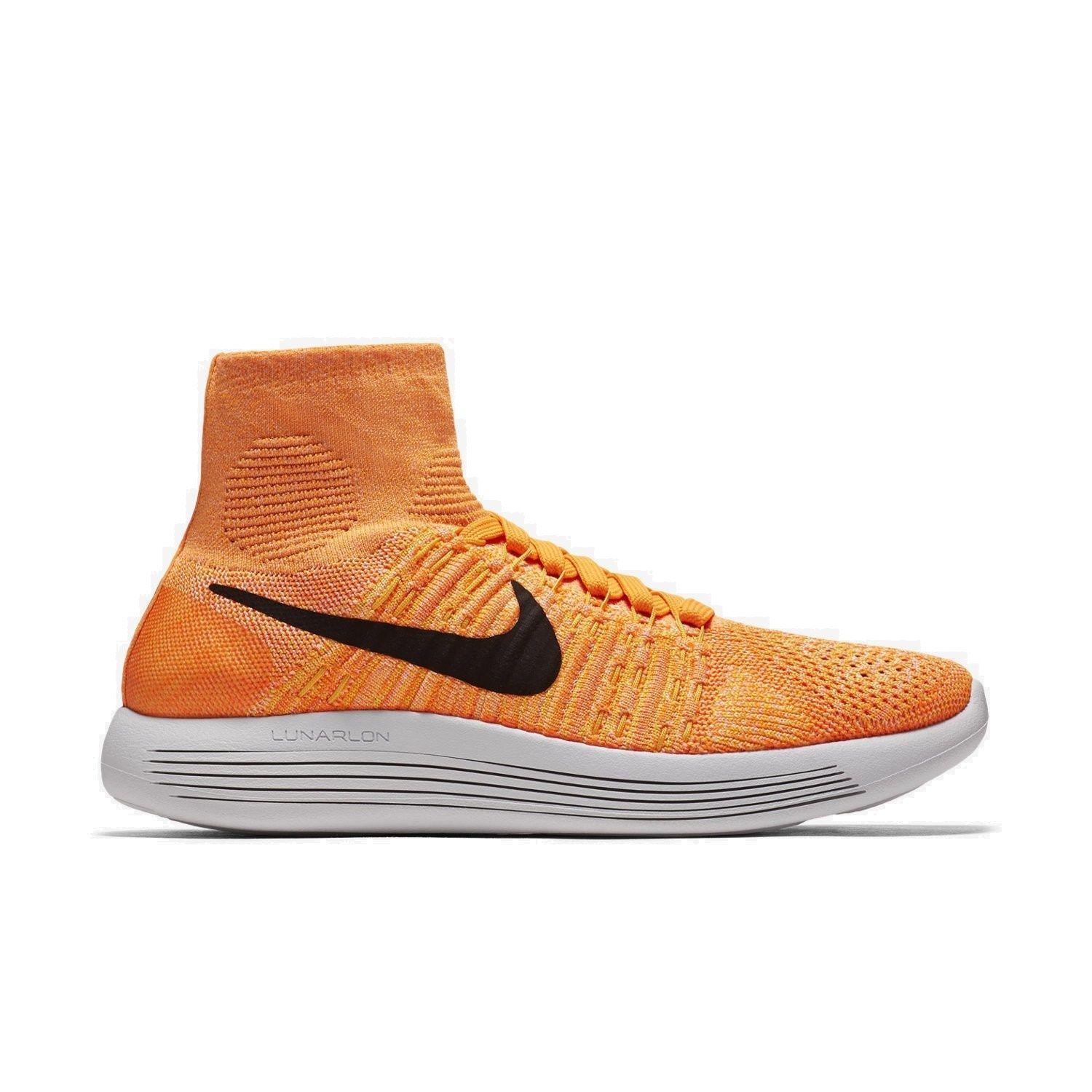 Zapatos promocionales para hombres y mujeres Womens NIKE LUNAREPIC FLYKNIT Textile Running Trainers 818677 801