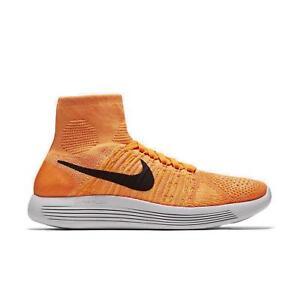 Nike da donna LUNAREPIC FLYKNIT tessuto Scarpe da corsa 818677 801