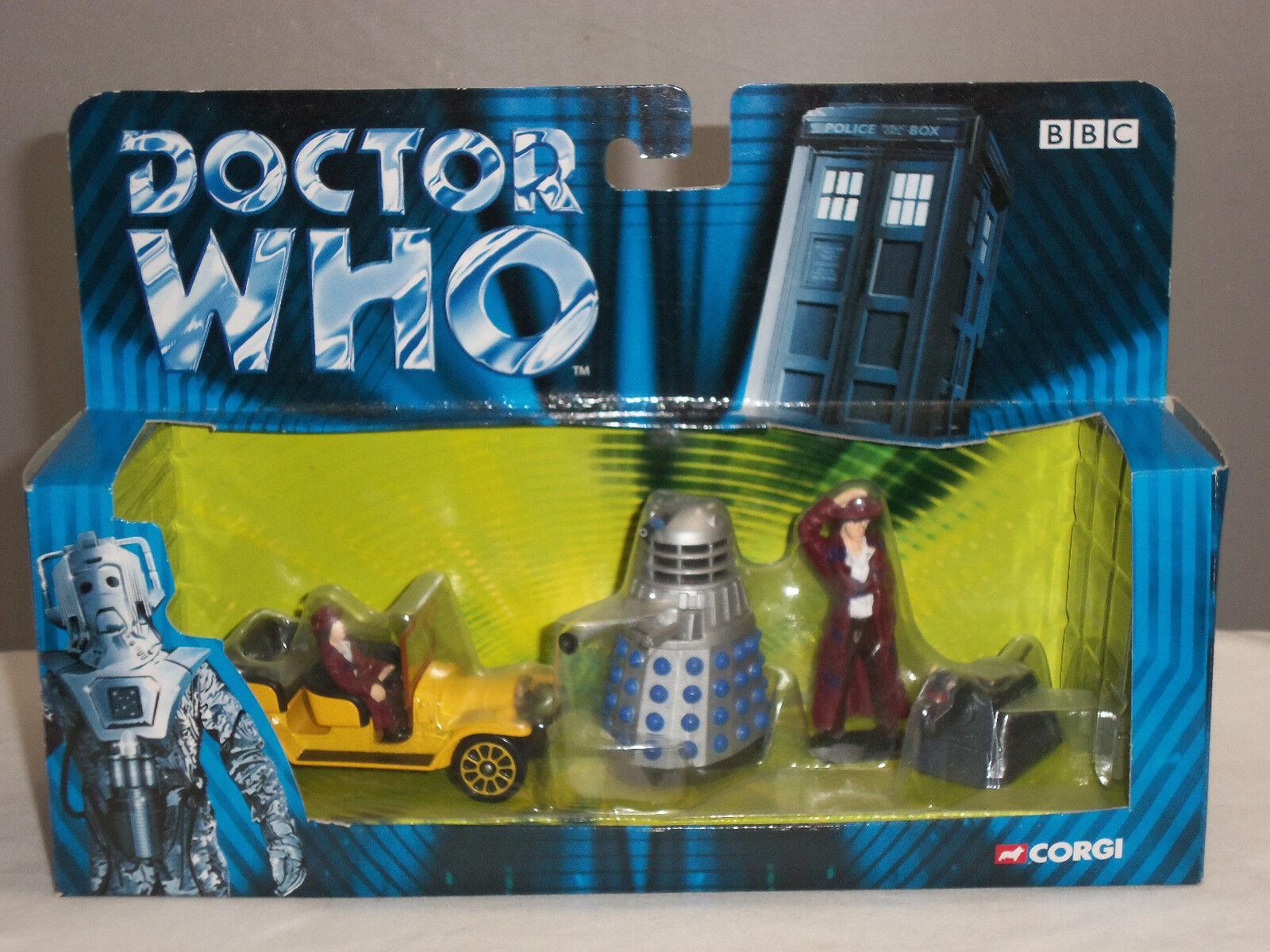 Corgi ty96201 dr. doktor, der tv - serie bessie auto dalek k9 metall festgesetzten betrag