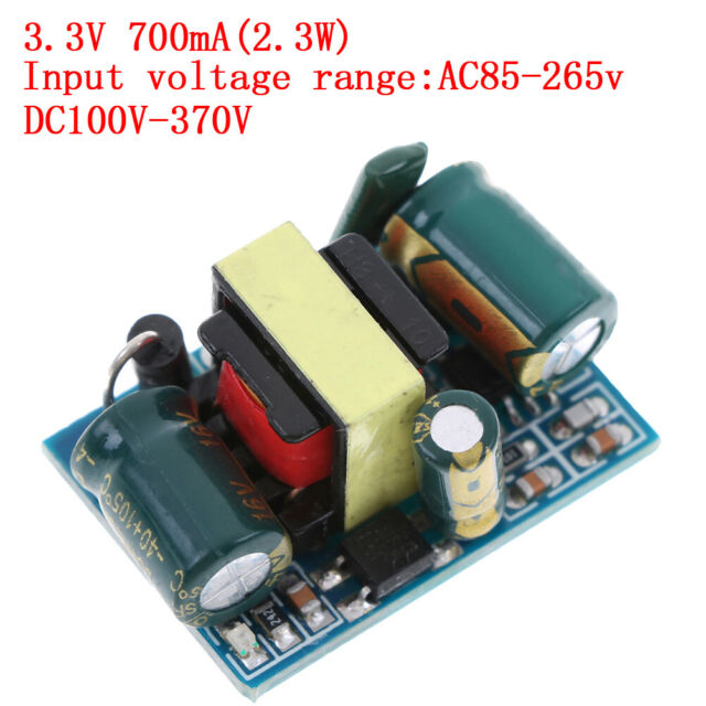 110V/220V to 3.3V 700mA 2.3W AC-DC power supply converter step down module E`AU