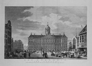 Antique-map-Het-Stadhuis-van-vooren