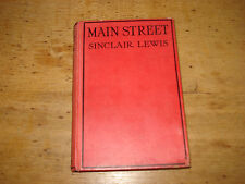 Main Street by Sinclair Lewis (Hardback, 1926 cheaper edition)