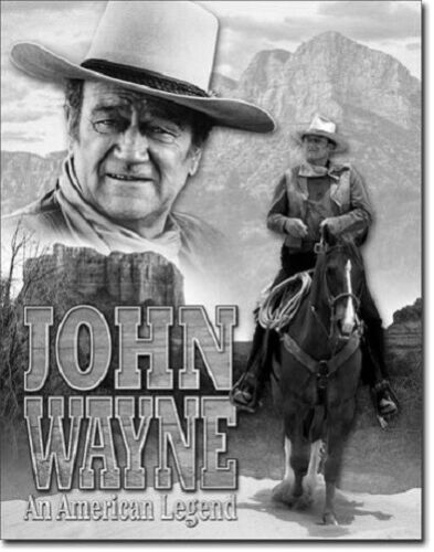 Details about  / John Wayne Cowboy shooting metal tin sign bedroom styles