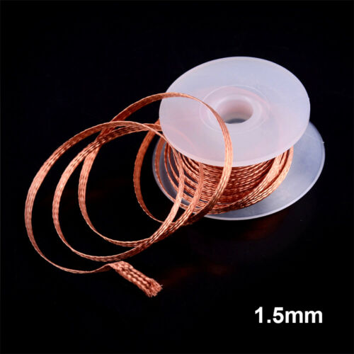 1pc 3.5mm 1.5M Desoldering Braid Solder Remover Wick Wire Repair Tool Practical.