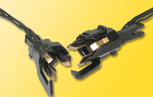 Viessmann 5071 Gauge H0 Conductor Clutch, 4-pin, 2 Pcs #NIP#