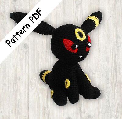 Read Description Umbreon Pokemon Crochet Pattern PDF