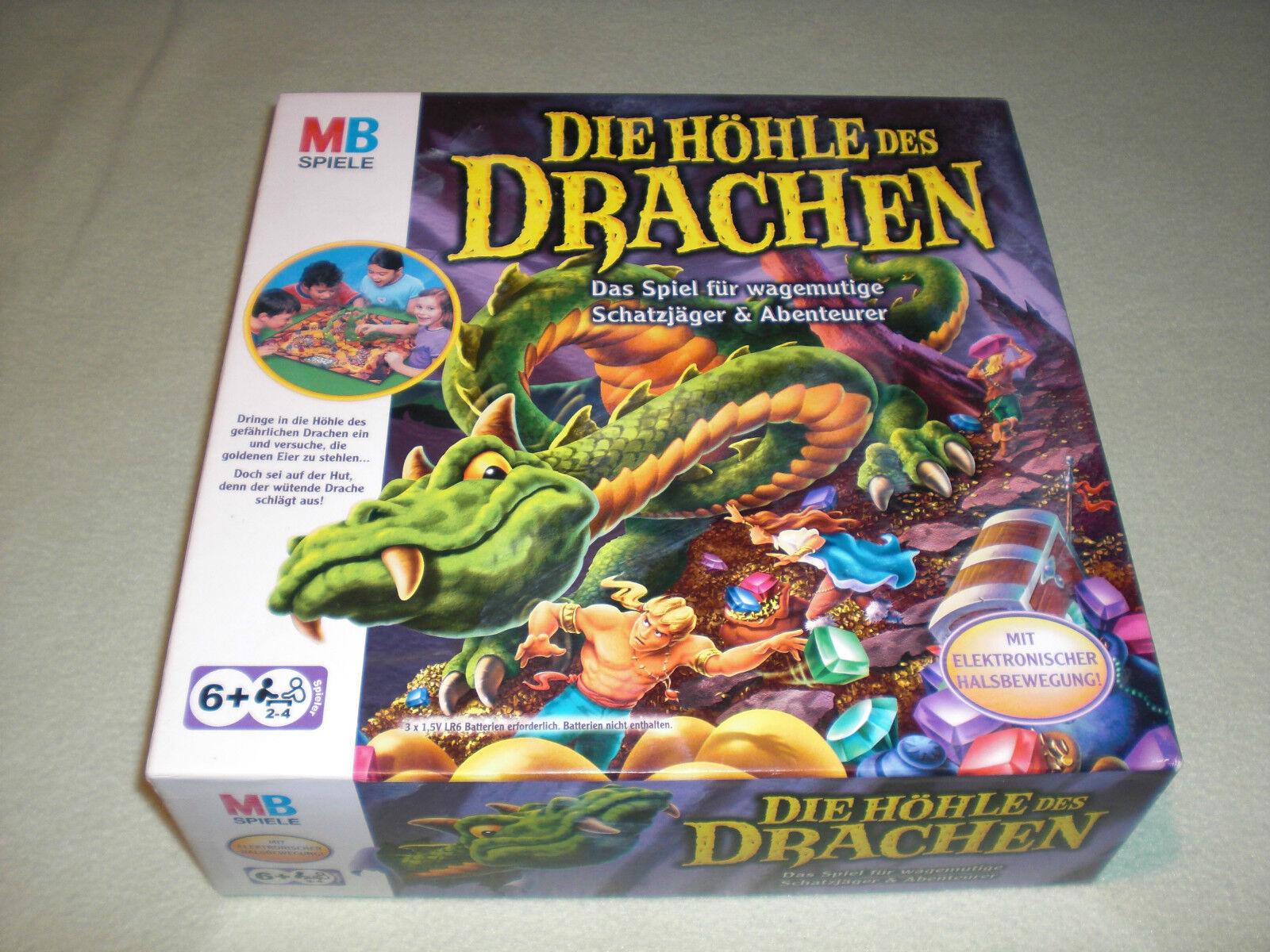 MB Spiele 2003 - Die Höhle des Drachen - mit Elektronik - rar  | Trendy