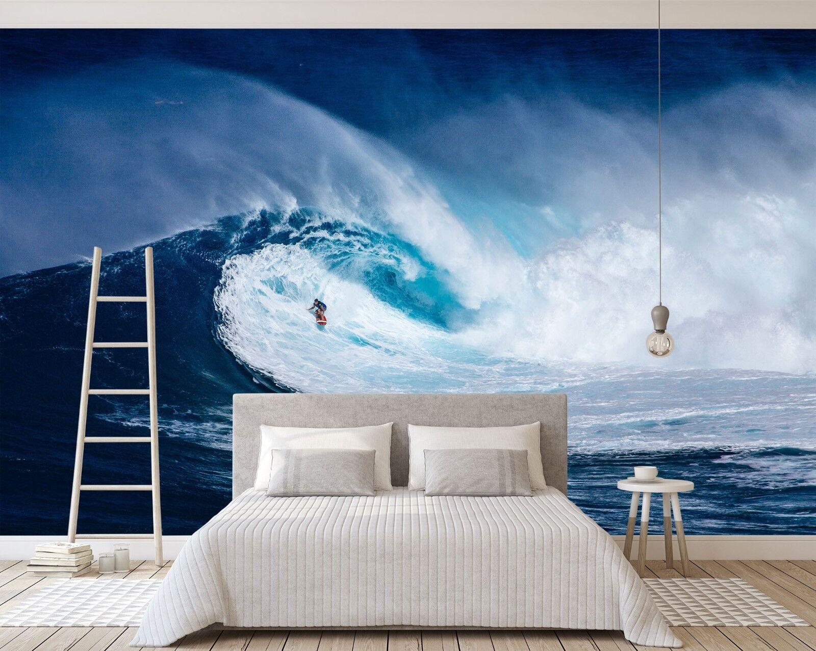 3D Sea Wave Nature 785 Wallpaper Mural Paper Wall Print Murals UK Sidney