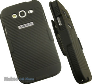 BLACK-HARD-CASE-COVER-BELT-CLIP-HOLSTER-STAND-FOR-SAMSUNG-GALAXY-GRAND-NEO