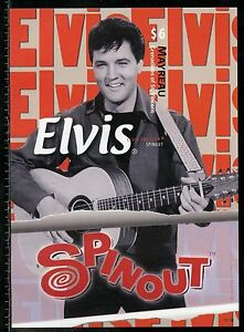 MAYREAU ELVIS PRESLEY SPINOUT IMPERFORATE SOUVENIR SHEET III MINT NH