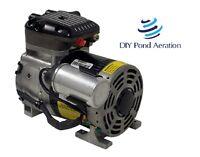 Gast 87r 1/4 Hp 230v Rocking Piston Compressor/vacuum Pump Veneer Aerate