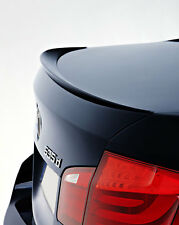 BMW F10 5 Series ABS Euro Rear Trunk Boot Spoiler Lip Wing Sport Trim Lid M M5