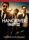 The Hangover Part III (DVD, 2013, 2-Disc Set, Special Edition Includes Digital Copy UltraViolet)
