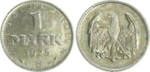 Weimar 1 Marco 1925D, Muy Bonito (1)