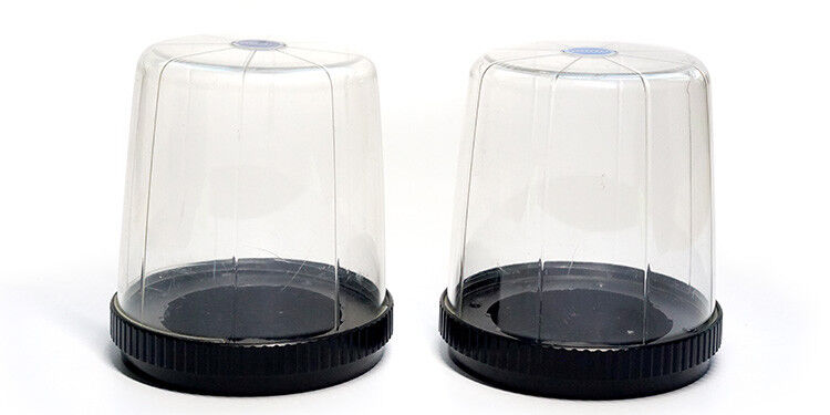 2 Hasselblad Clear Plastic Bubble Lens Case free shipping