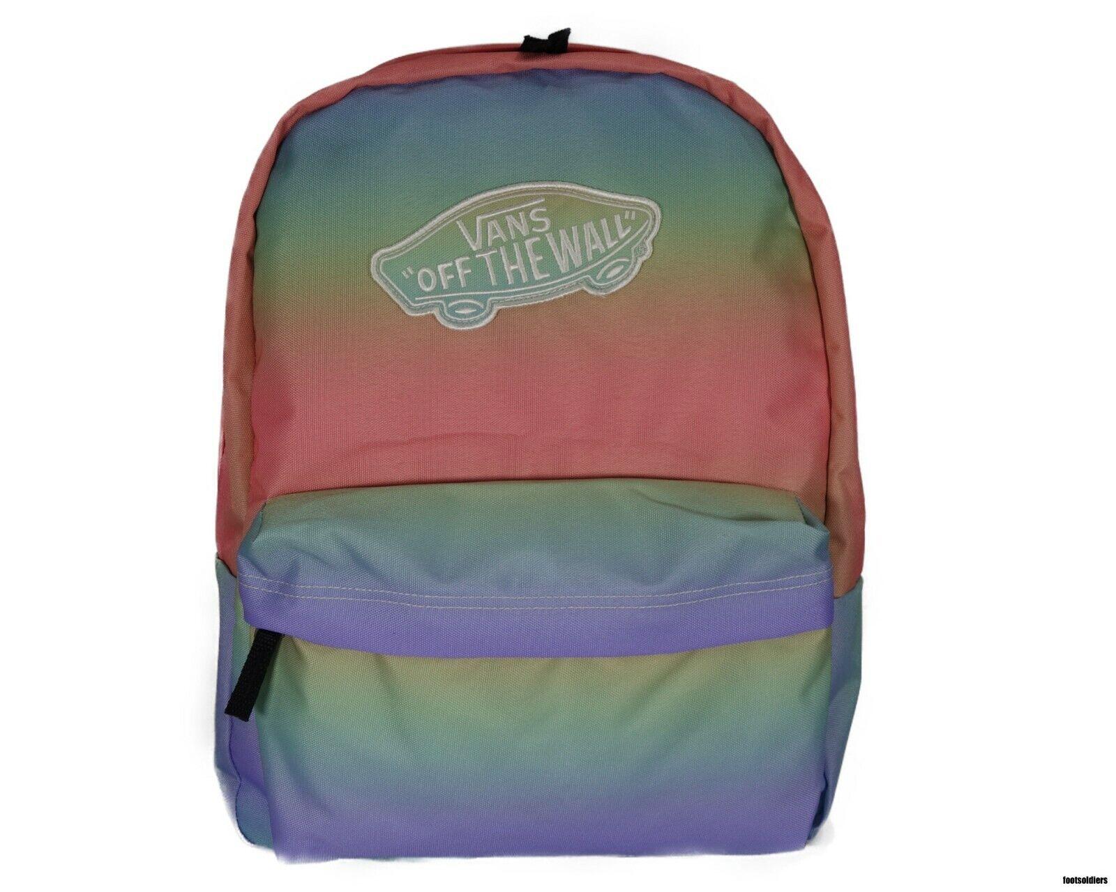 online jälleenmyyjä korkealaatuinen los angeles VANS Off The Wall Realm Backpack - Colorful Rainbow
