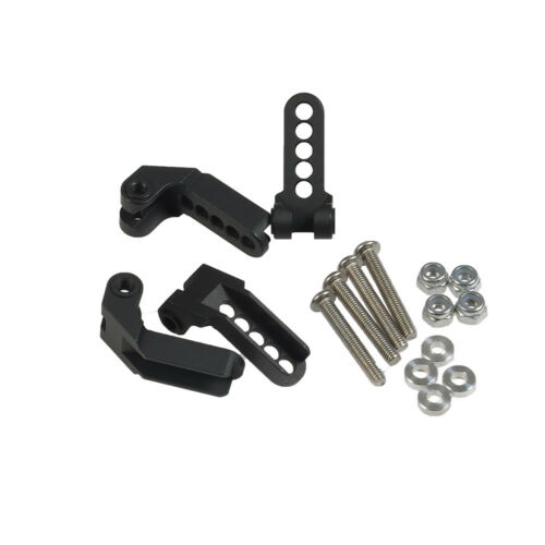 Black Alloy Metal Adjustable Damper Mount For Traxxas TRX-4 GPM 1//10 RC Crawler