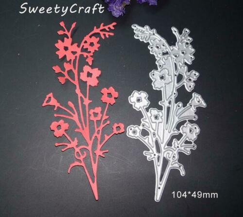 Flower Leaves Cutting Dies Metal Craft Card Making Die Cut Embossing Stencils