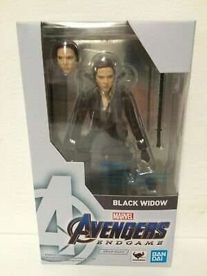 Genuine Bandai S.H Figuarts Avengers Issue Black Widow Marvel Legends Scale