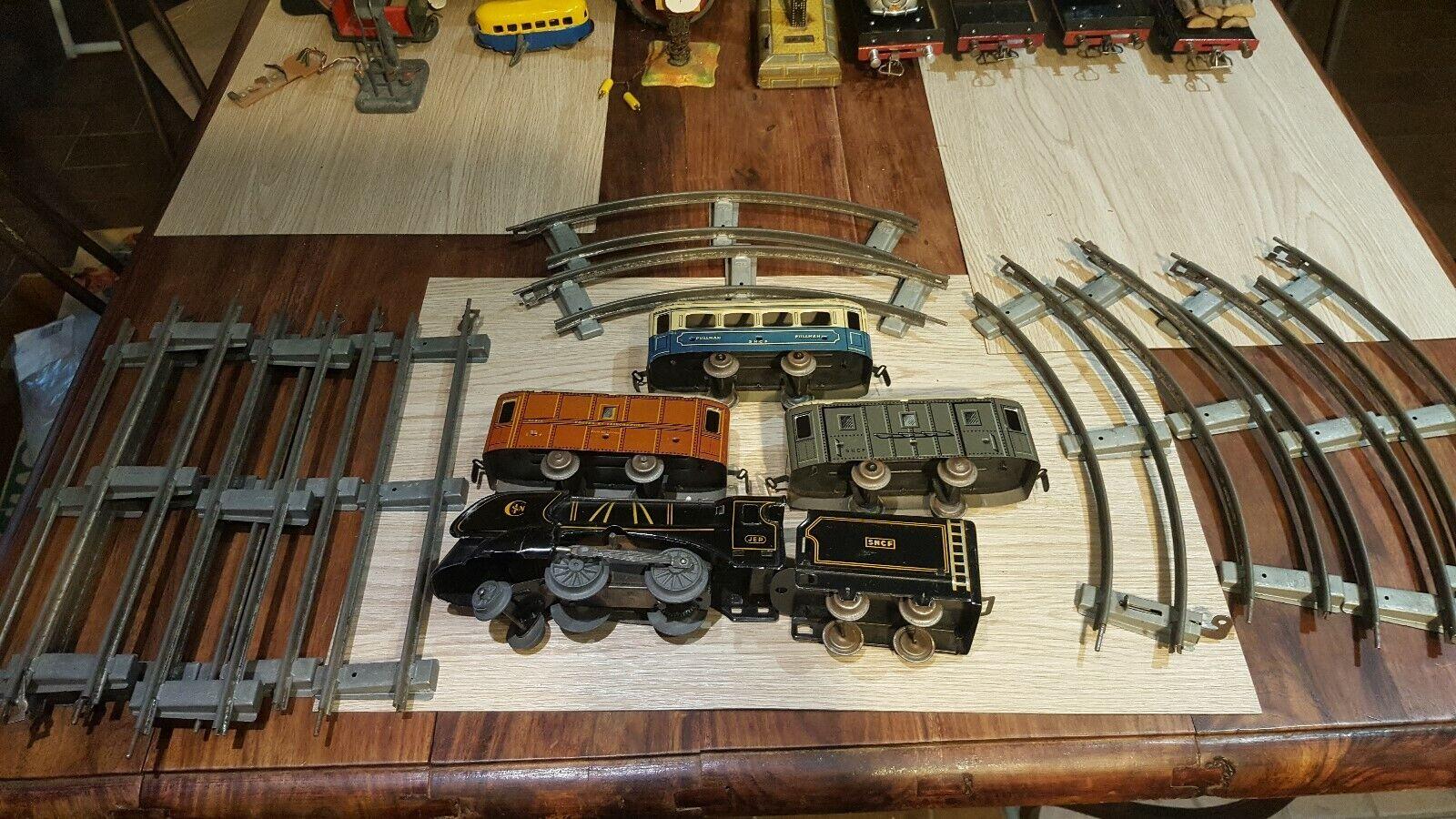 JEP, échelle o Petite rame mécanique avec rails