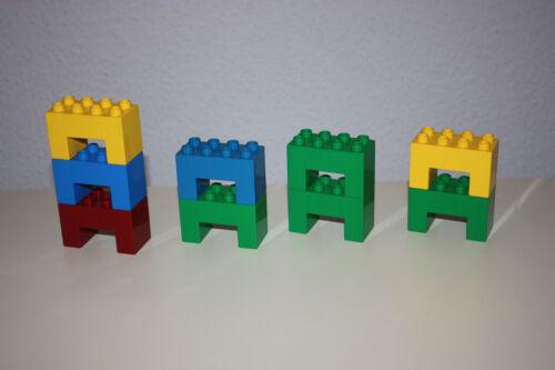 LEGO Bau- & Konstruktionsspielzeug 9 LEGO DUPLO SONDERSTEINE LEGO Bausteine & Bauzubehör WIE ABGEBILDET!