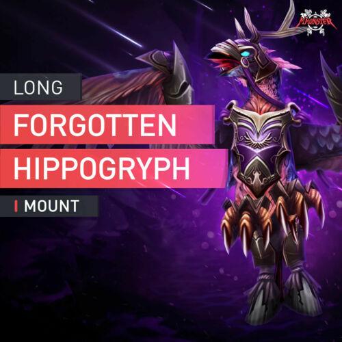Reins of the Long-Forgotten Hippogryph Mount Sellrun Boost Legion WoW EU Servers