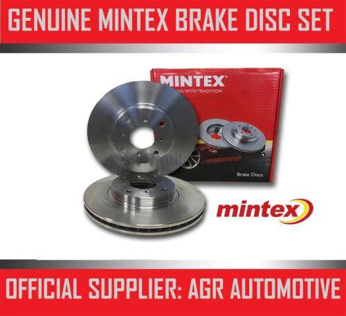 MINTEX REAR BRAKE DISCS MDC906 FOR TOYOTA SUPRA 3.0 TWIN TURBO 1993-00