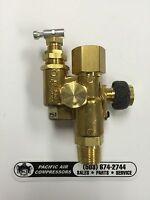 Gas Powered Air Compressor Pilot Control Unloader Check Valve 95/125 Psi, 1/2''