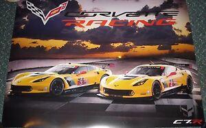 Le Mans 2014  FIA WEC Du Mans  Chevrolet Corvette Racing C7R GTE Pro Poster - <span itemprop='availableAtOrFrom'>NORWICH, Norfolk, United Kingdom</span> - Le Mans 2014  FIA WEC Du Mans  Chevrolet Corvette Racing C7R GTE Pro Poster - NORWICH, Norfolk, United Kingdom