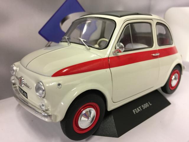 Solido Fiat 500 Nuova Sport 1960 1 18