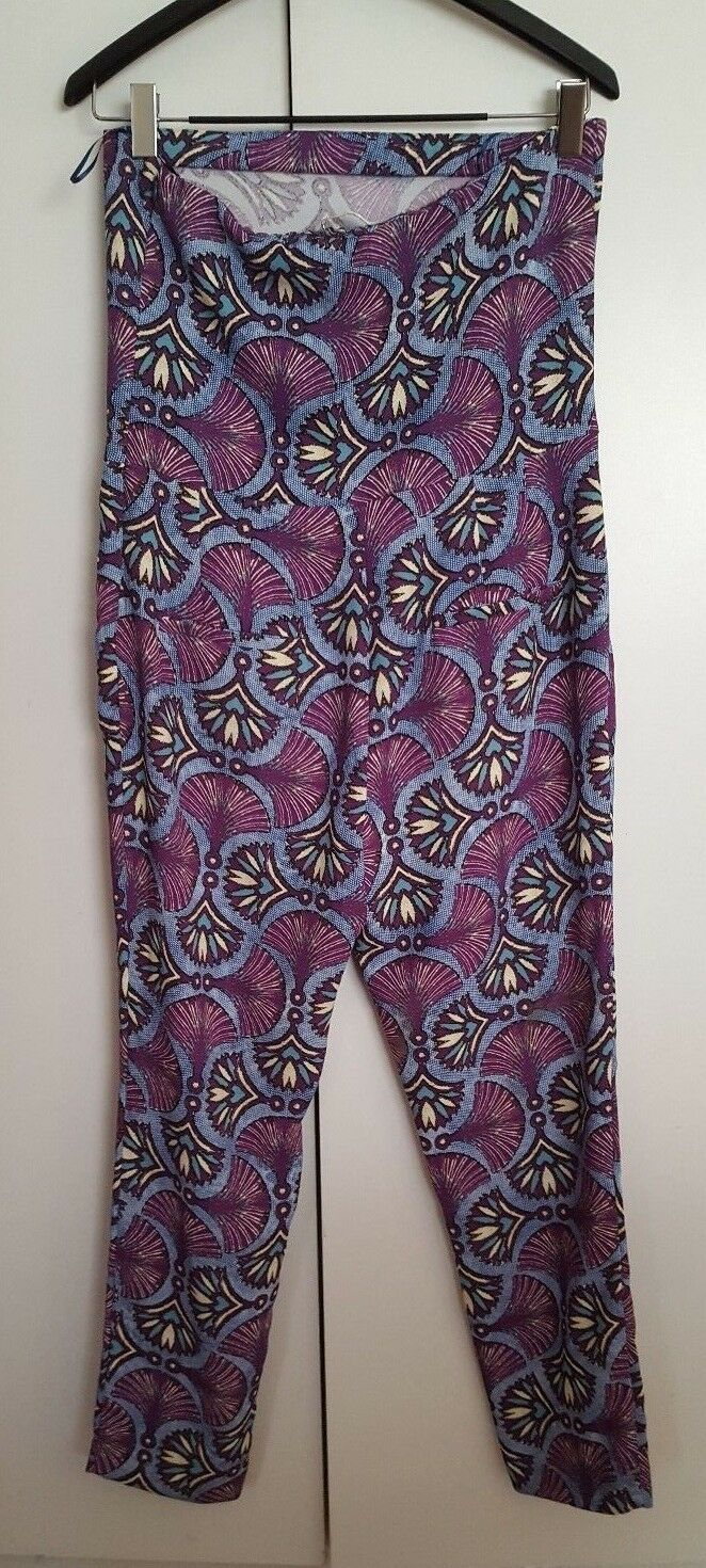 f2477422 ... NWT ZARA TRAFALUC WOMEN'S STRAPLESS TUBE TOP TOP TOP JUMPER PANTS MULTI  COLOR SIZE LARGE f68396 ...